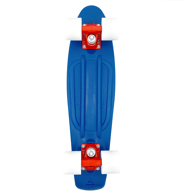 """Swell LONGBOARD-SWELL 22"""" OCEANS BLUE/RED"""