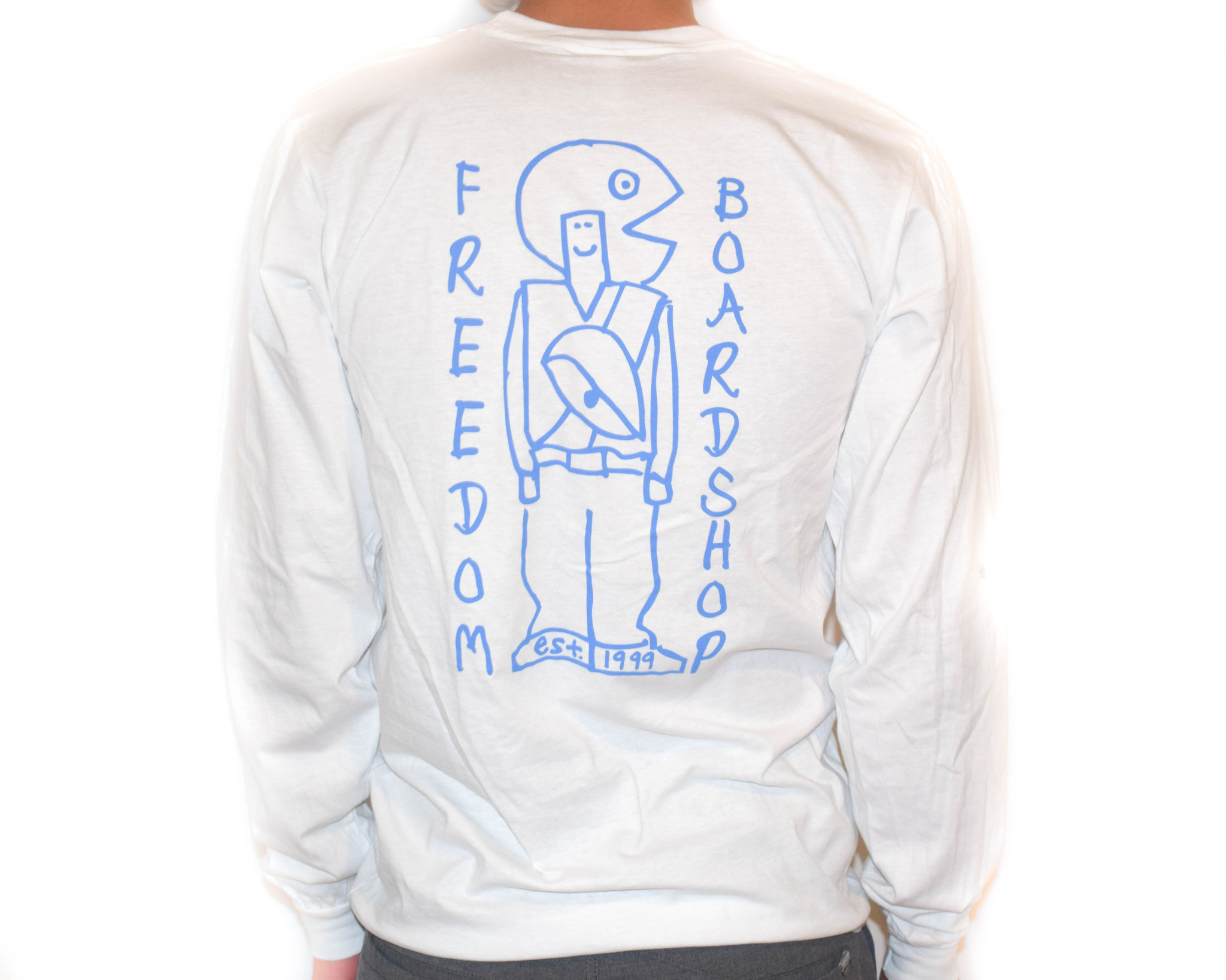 Freedom Boardshop TEE-FREEDOM GONZ SKETCHY L/S