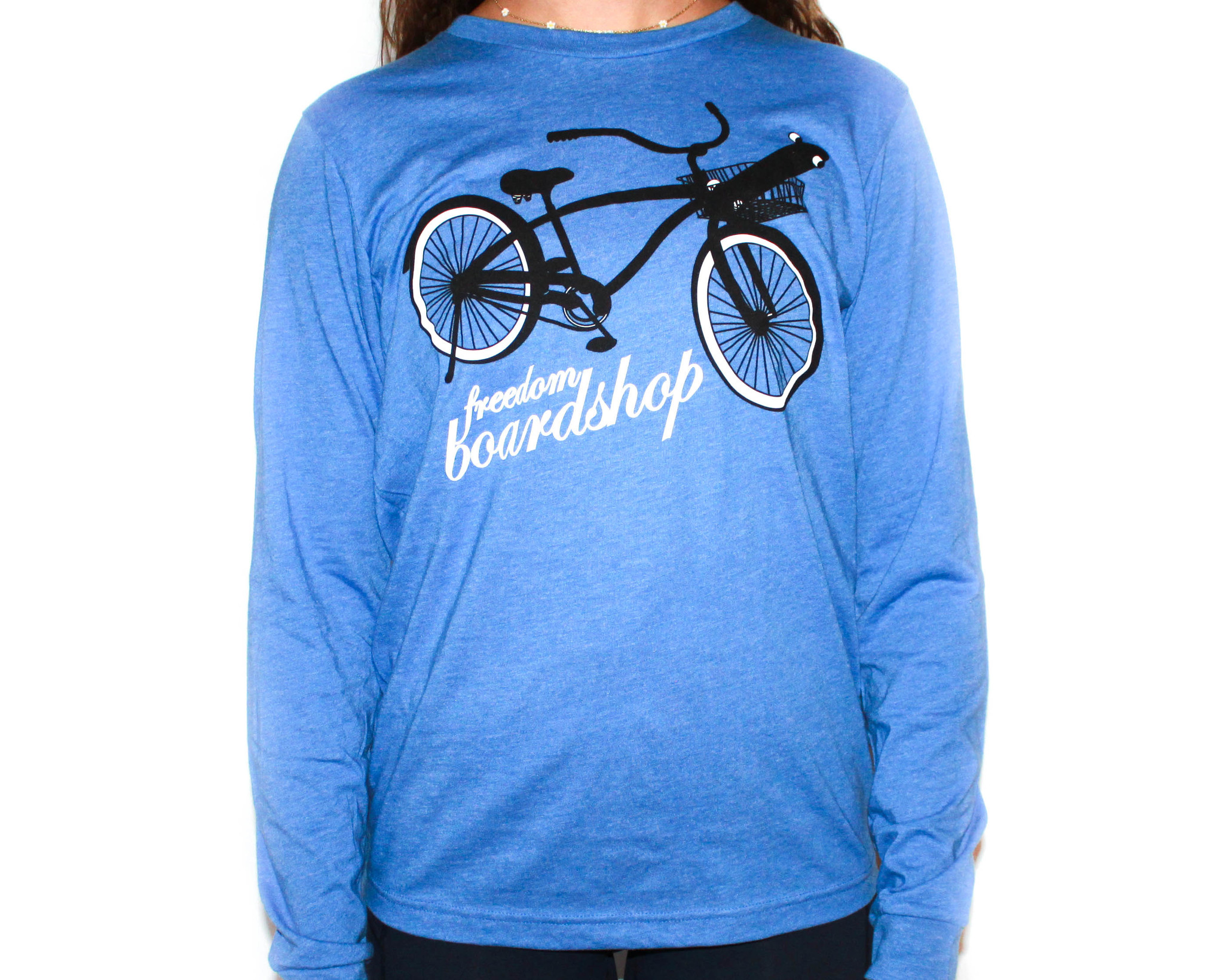 Freedom Boardshop TEE-FREEDOM BIKE L/S