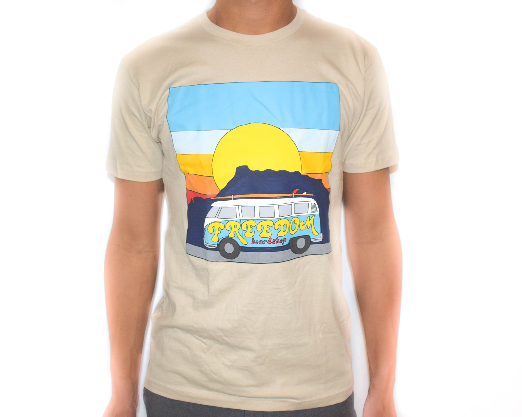 Freedom Boardshop TEE-FREEDOM VAN SUNSET
