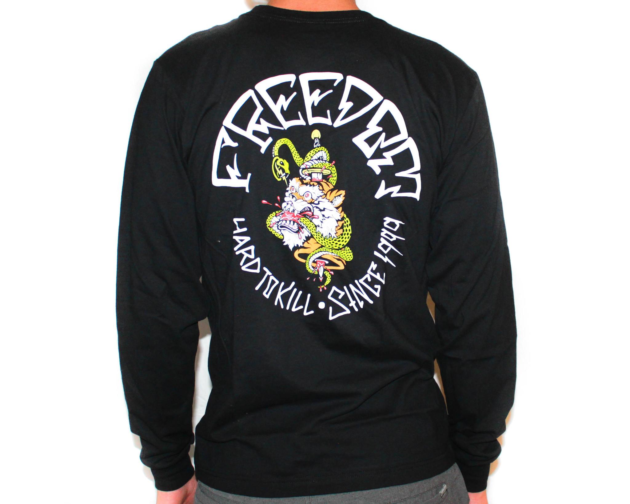 Freedom Boardshop TEE-FREEDOM HARD TO KILL L/S