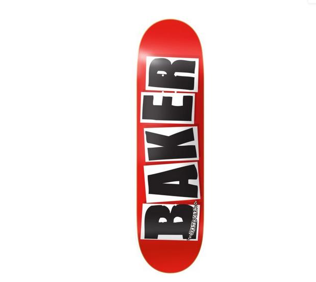 Baker DECK-BAKER BRAND LOGO BLACK (8.4)