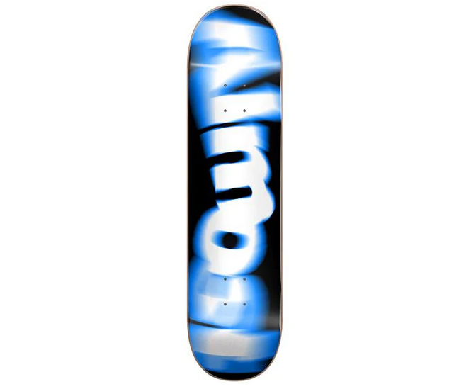 Almost DECK-ALMOST SPIN BLUR LOGO BLUE (8)