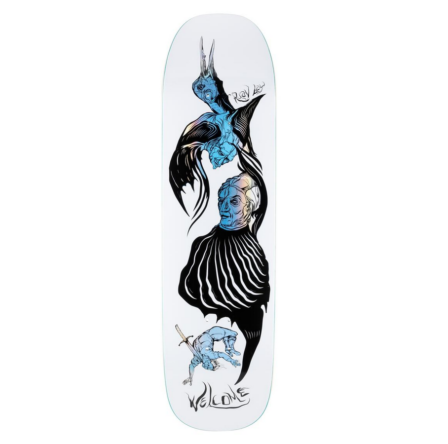 Welcome DECK-WELCOME ISOBEL ON STONECIPHER WHITE (8.64)
