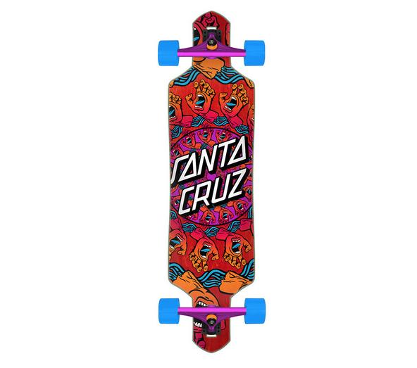 Santa Cruz LONGBOARD-SANTA CRUZ MANDALA HAND DROP THRU