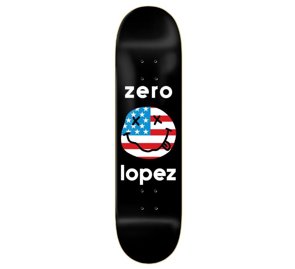 Zero DECK-ZERO AMERICAN SMILEY LOPEZ (8.25)