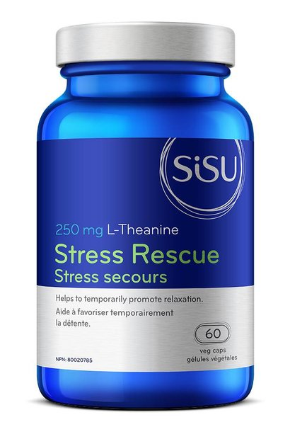 Stress Rescue 250 mg L-Theanine - 60 Vcaps