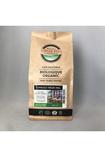 Organic Fair Trade Espresso Virgin Hill - 340g