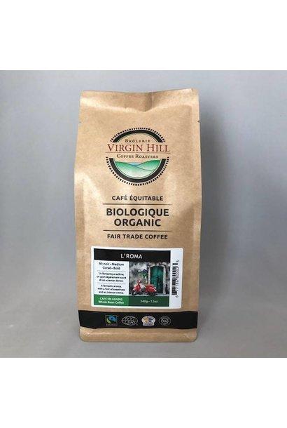 Organic Fair Trade Espresso L'Roma - 340g