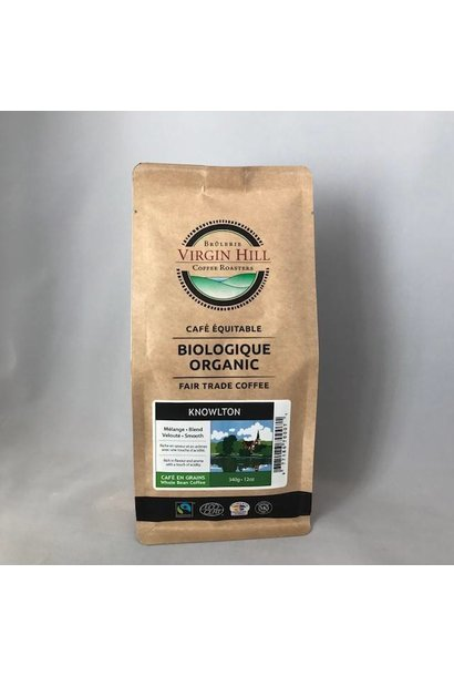 Organic Fair Trade Knowlton Coffee Blend - 340g
