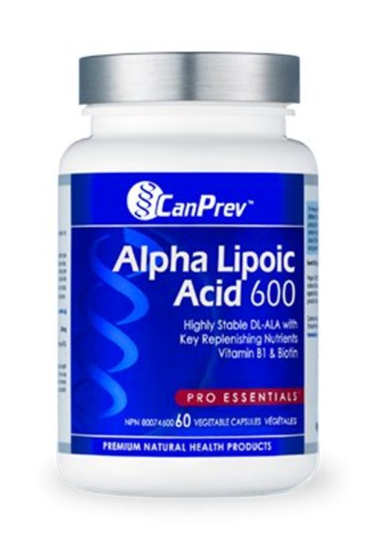 Alpha Lipoic Acid 600mg - 60 Vcaps