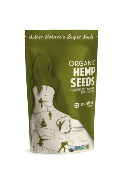 Organic Hemp Seeds - 275g