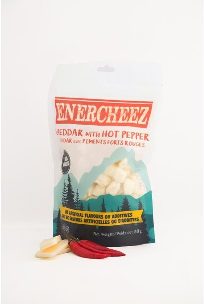 Cheddar Cheese with Hot Peppers snacks - 70g