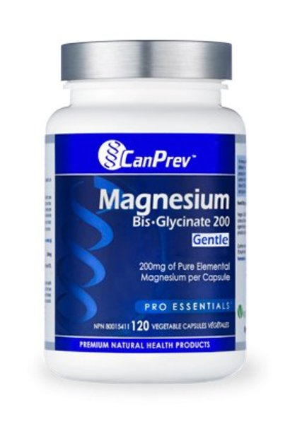 Magnesium Bis-Glycinate 200 Gentle - 120 caps