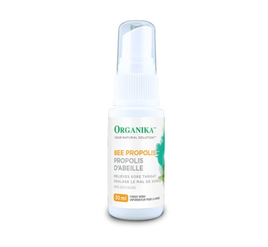 Organika Bee Propolis - Throat Spray - Alcohol Base - 30 ml - Vita