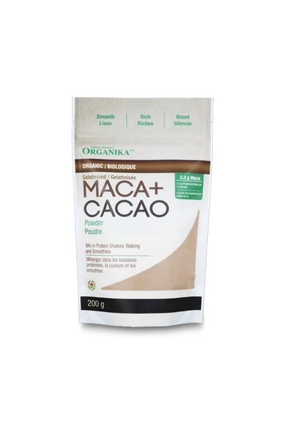 Maca + Cacao Powder - Organic - 200g