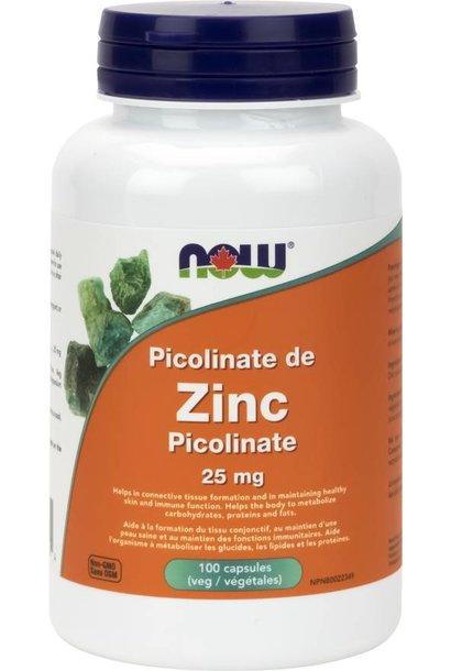 Zinc Picolinate 25 mg - 100 VCaps