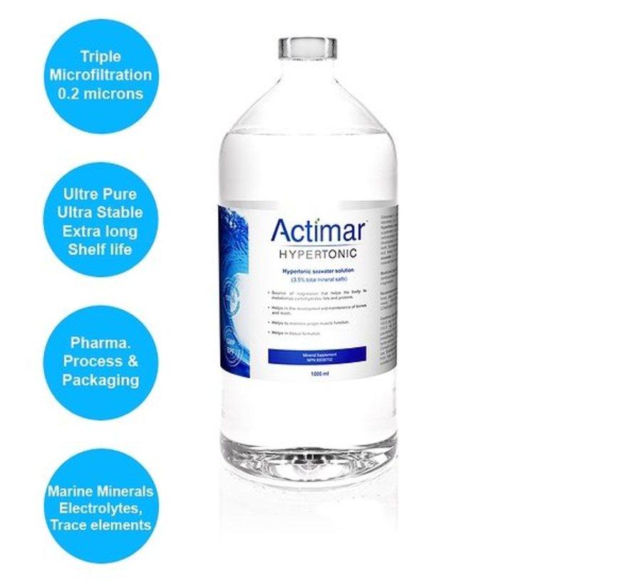 Actimar Hypertonic - Pure Marine Plasma® 1000 ml