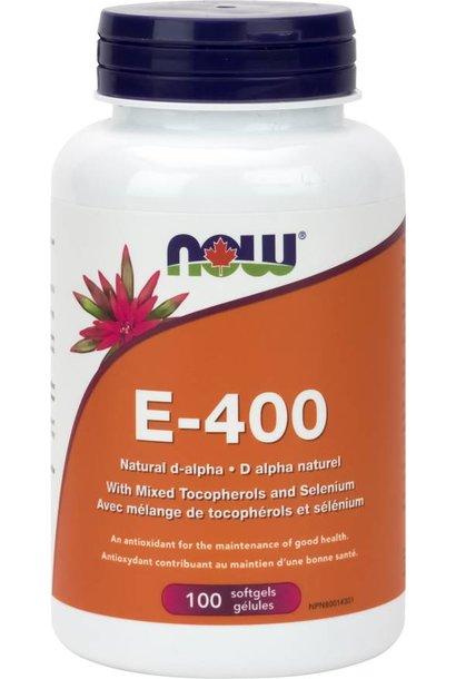 Vitamin E - 400 IU - 60 softgels