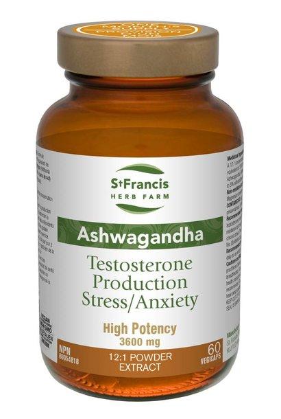 Ashwagandha - 300 mg (12:1 concentration) - 60 Vcaps