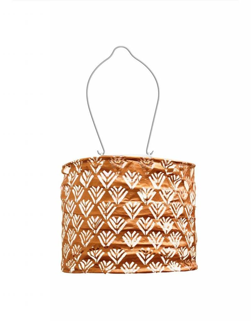COPPER DRUM LANTERN