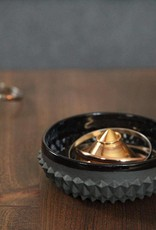 SPIKED BOWL JEWELRY DISH - Black