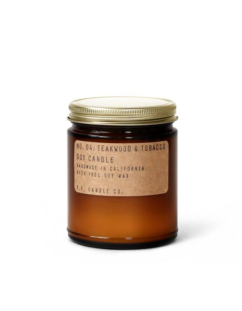 P.F.Candle P.F. CANDLE - Teakwood & Tobacco, 3.5 oz