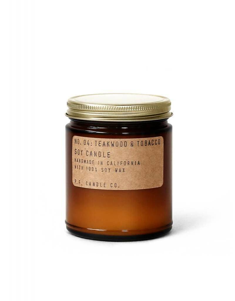 P.F.Candle P.F. CANDLE - Teakwood & Tobacco, 7.2 oz