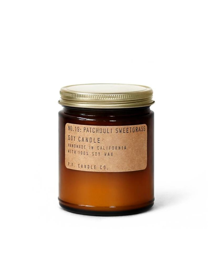 P.F.Candle P.F. CANDLE - Patchouli Sweetgrass Soy Candle, 7.2 oz
