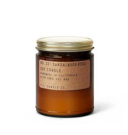 P.F.Candle Sandalwood Rose Soy Candle 3.5 oz