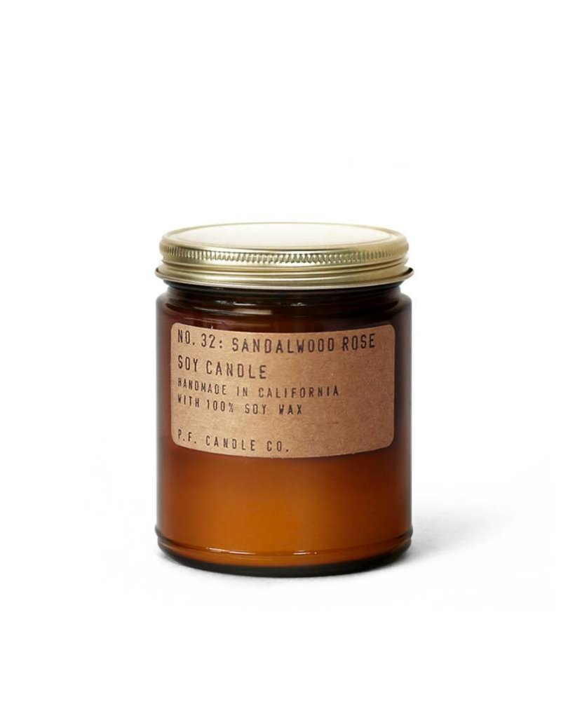 P.F.Candle P.F. CANDLE - Sandalwood Rose, 3.5 oz