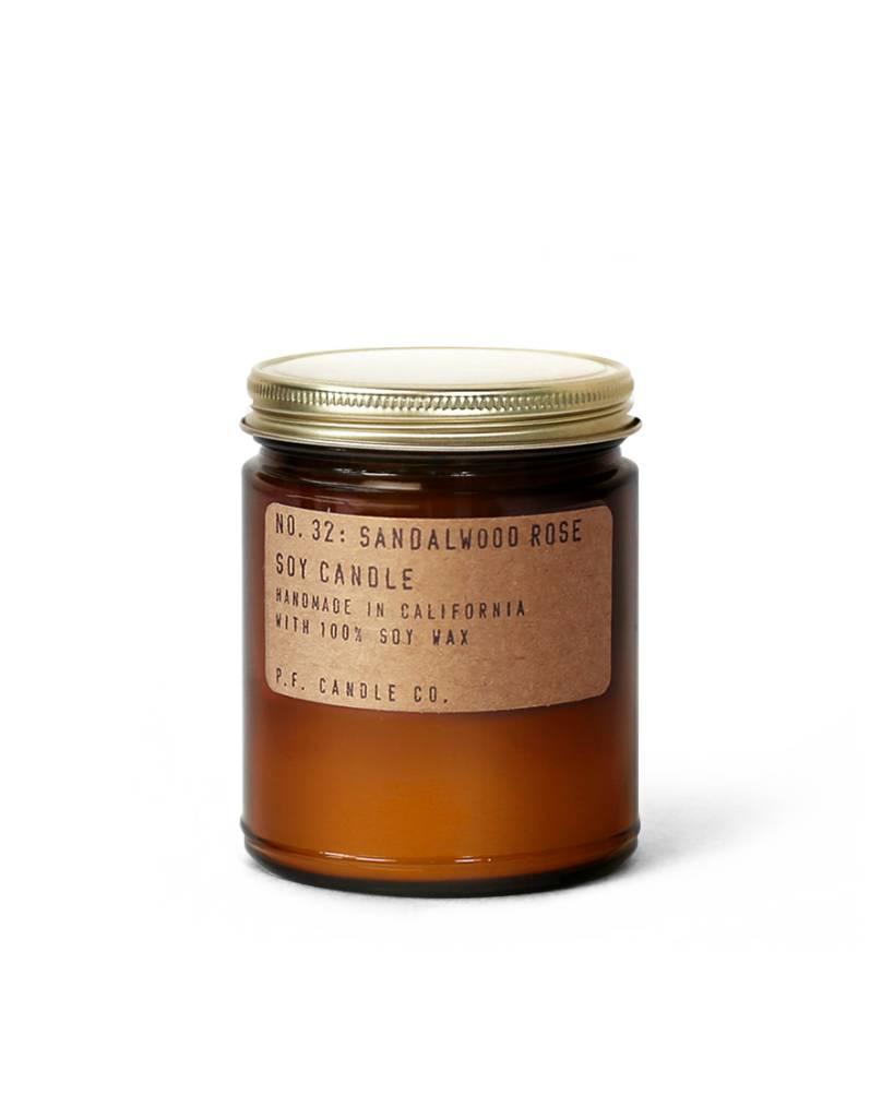 P.F.Candle P.F. CANDLE - Sandalwood Rose, 3.5 oz