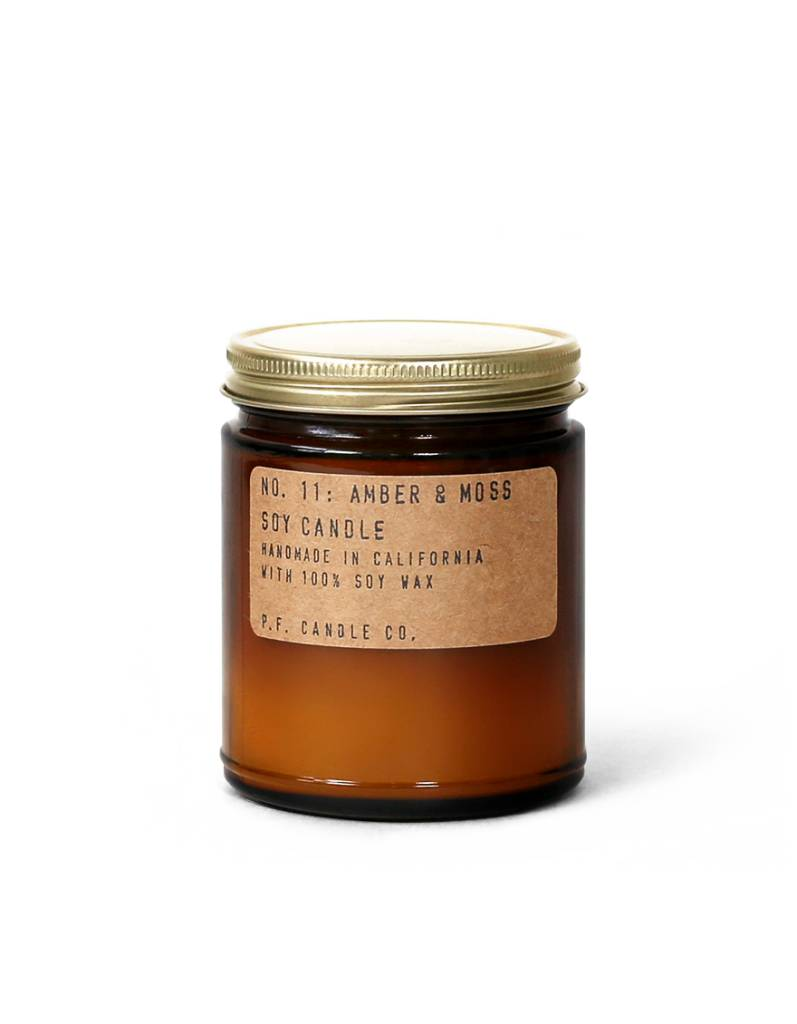 P.F.Candle P.F. CANDLE - Amber and Moss, Candle 12.5 oz