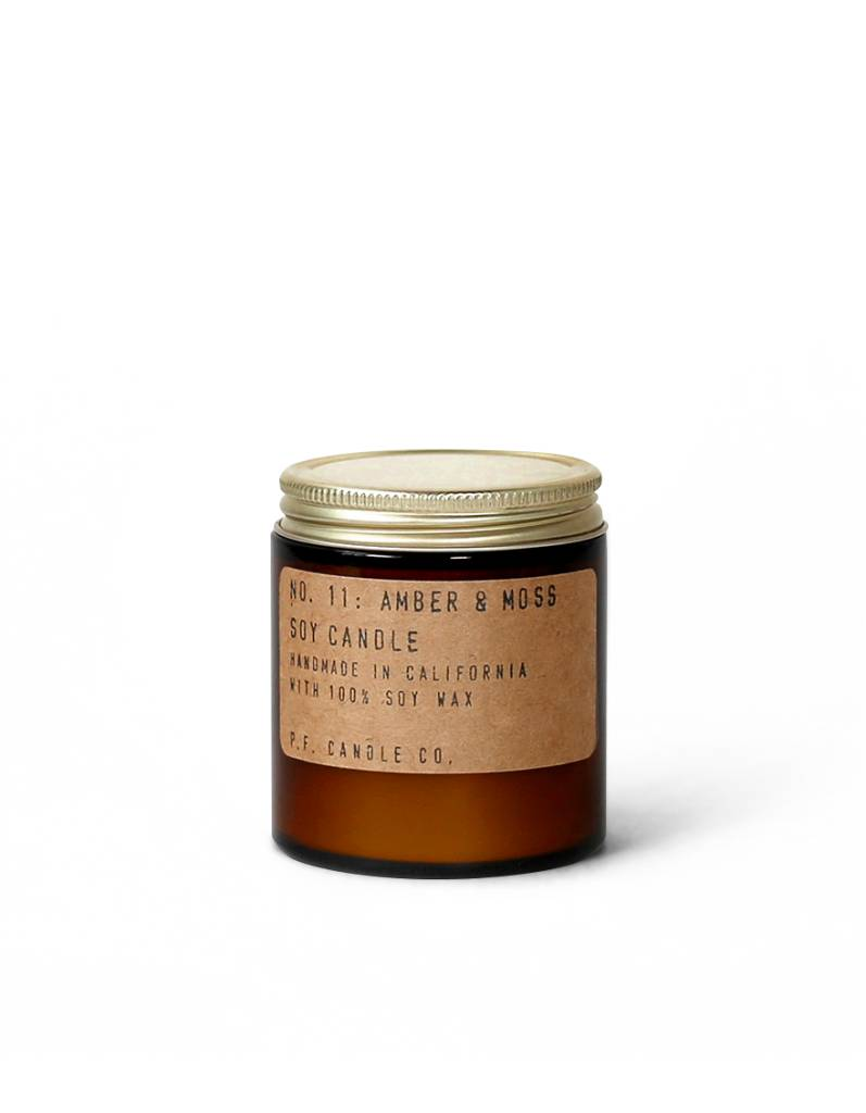 P.F.Candle P.F. CANDLE - Amber and Moss, 3.5 oz