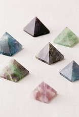 Chaparral-Studio Mini Fluorite Pyramid - Vanquish Bad Vibes
