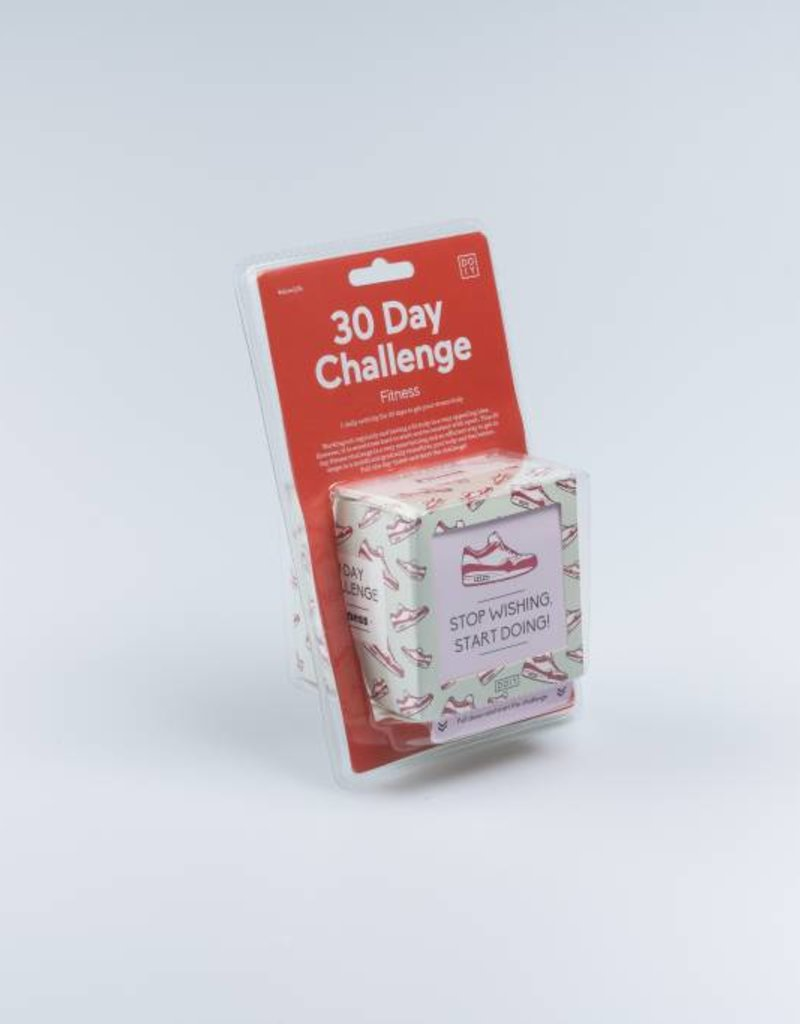 Doiy 30 Day Fitness Challenge - Challenge Cube