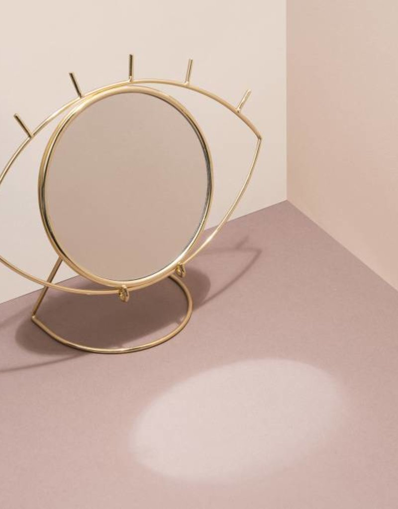 Doiy Cyclops Table mirror gold