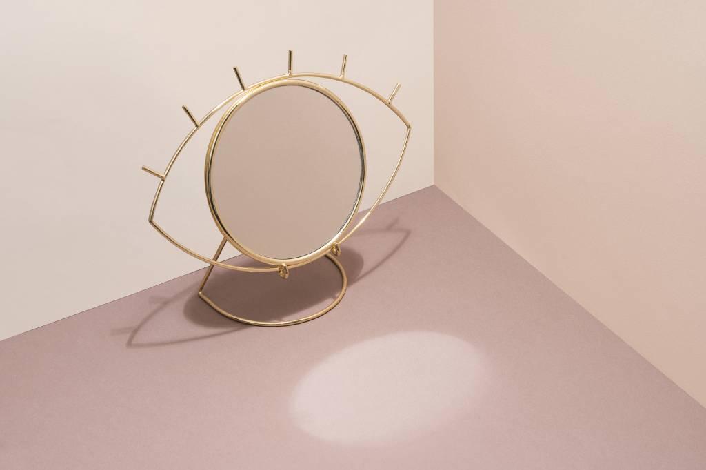 Doiy Cyclops Table mirror gold