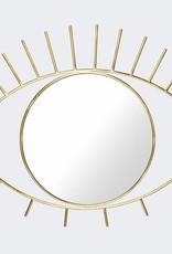 Doiy Cyclops Wall mirror L size gold