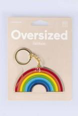 Doiy Oversized Keyring Rainbow