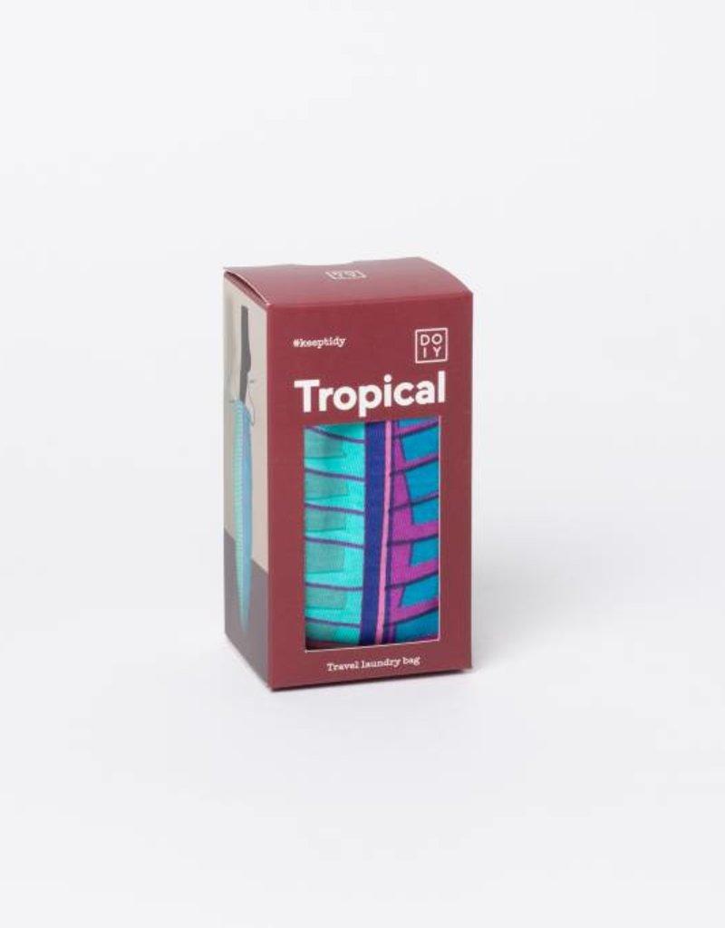 Doiy Travel laundry bag - Tropical Psychotropical