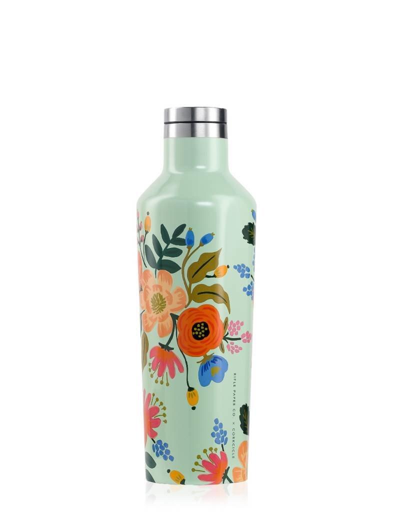 corkcicle Rifle Paper Tumbler - 16oz Gloss Mint - Lively Floral