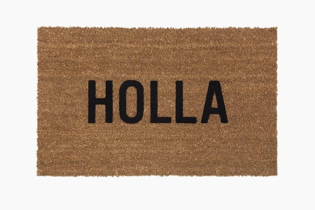 Reed Wilson Design Doormat - Holla