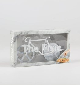 Doiy The Fixie White Marble Pizza Cutter