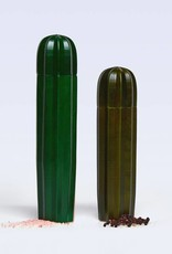 Doiy Cacti Green Wood Salt and pepper mills