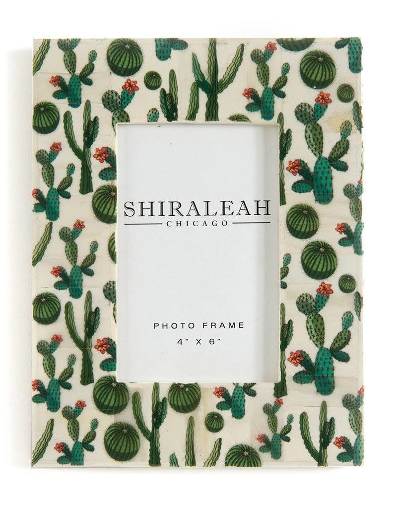 shiraleah The Wanderer Cactus 4x6 Picture Frame - Mul