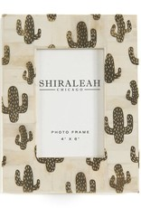 shiraleah The Wanderer Cactus 4x6 Picture Frame - Gold