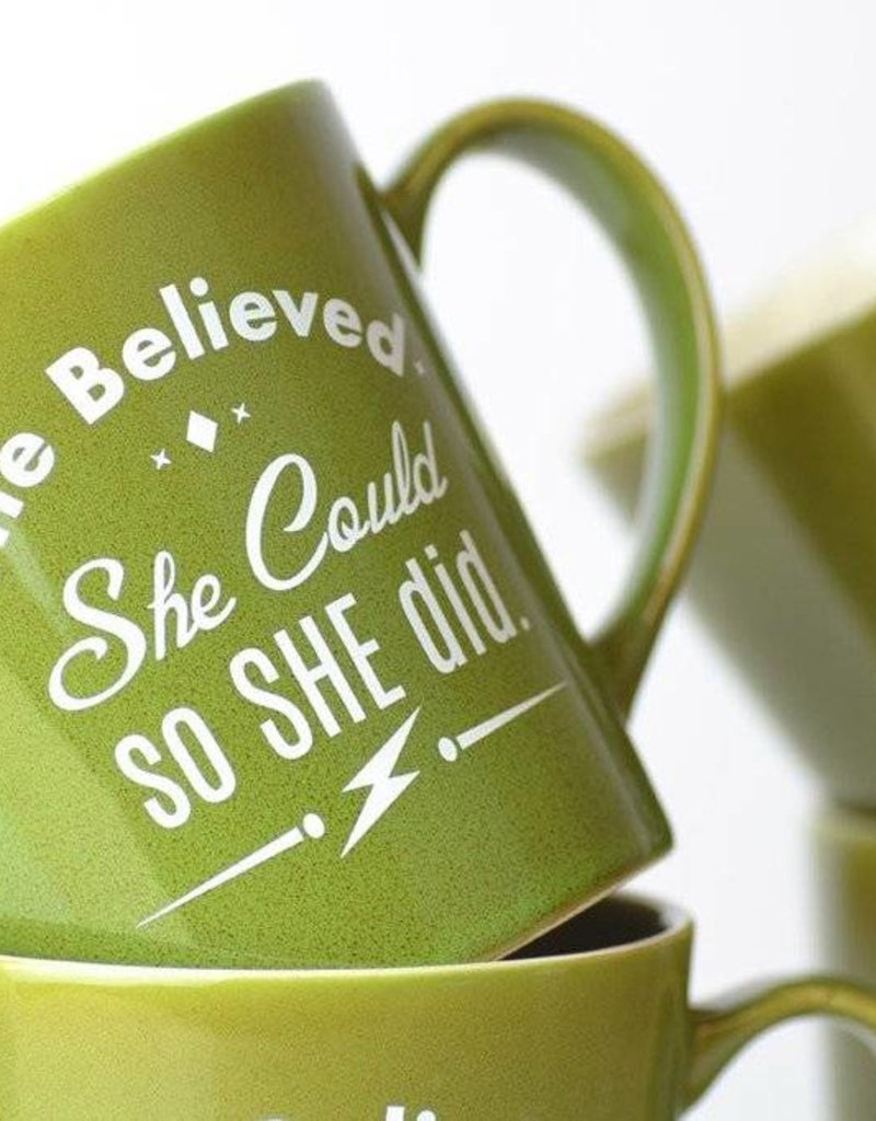 She Believed She Could So She Did - Coffee Mug
