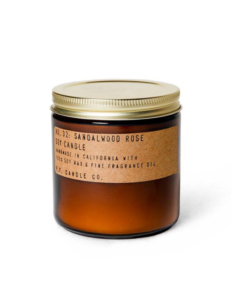P.F.Candle P.F. CANDLE - Sandalwood Rose 7.2 oz