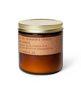 P.F.Candle Large Teakwood and Tobacco Candle